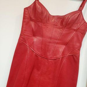 LEATHER Danier Dress